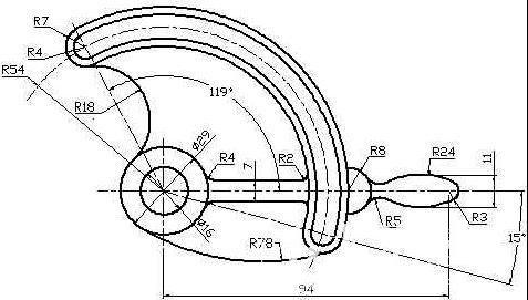 工程图 简笔画 平面图 手绘 线稿 477_271